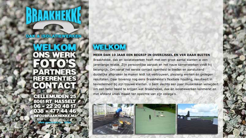 Website - Braakhekke, Hasselt