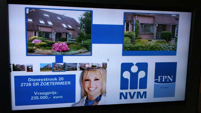 Narrowcasting - FPN, Zoetermeer