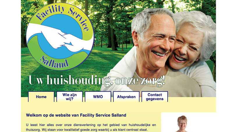 Website - Facility Service Salland, Raalte