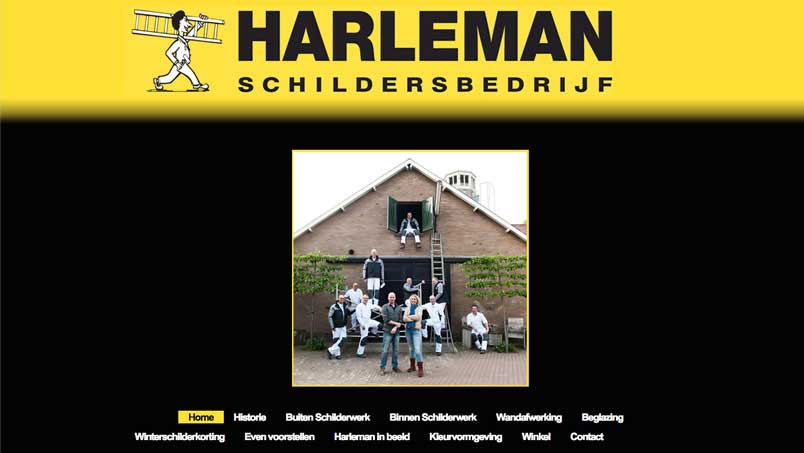 Website - Harleman, Olst
