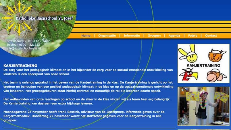 Website - Jozefschool, Wijhe