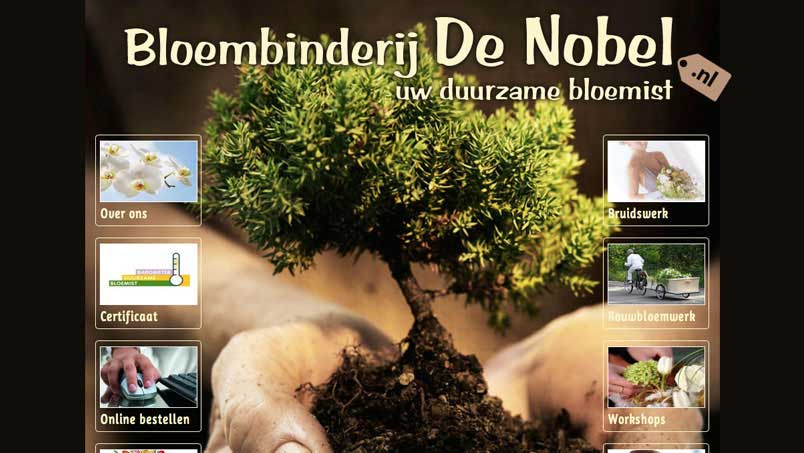 Website - De Nobel, Zoetermeer