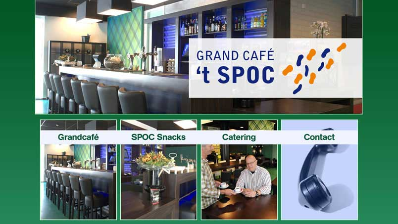 Website - Grand Cafe 't Spoc, Wijhe